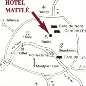 פריז - מלון MATTLE