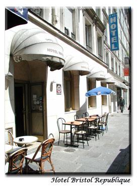 מלון Bristol Republique