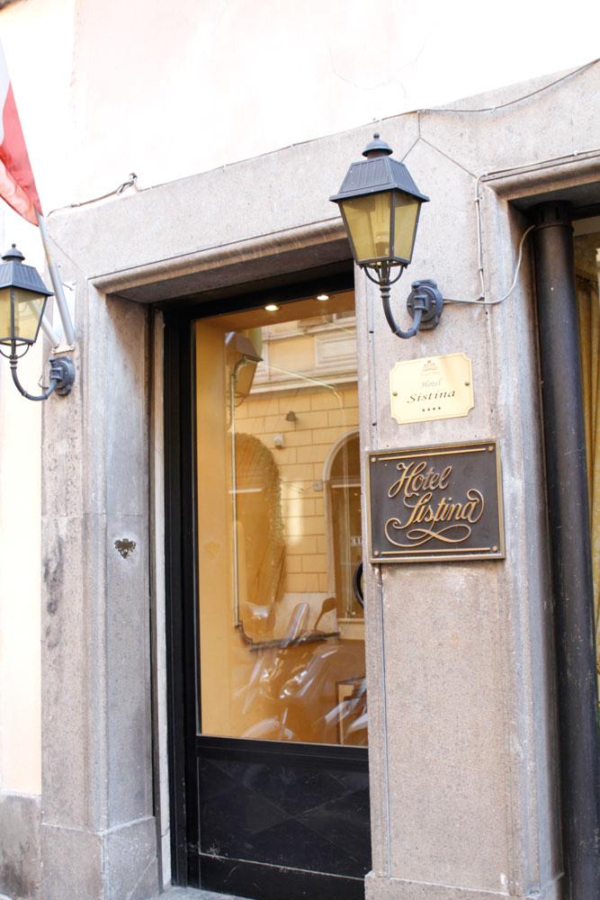 מלון Sistina Hotel
