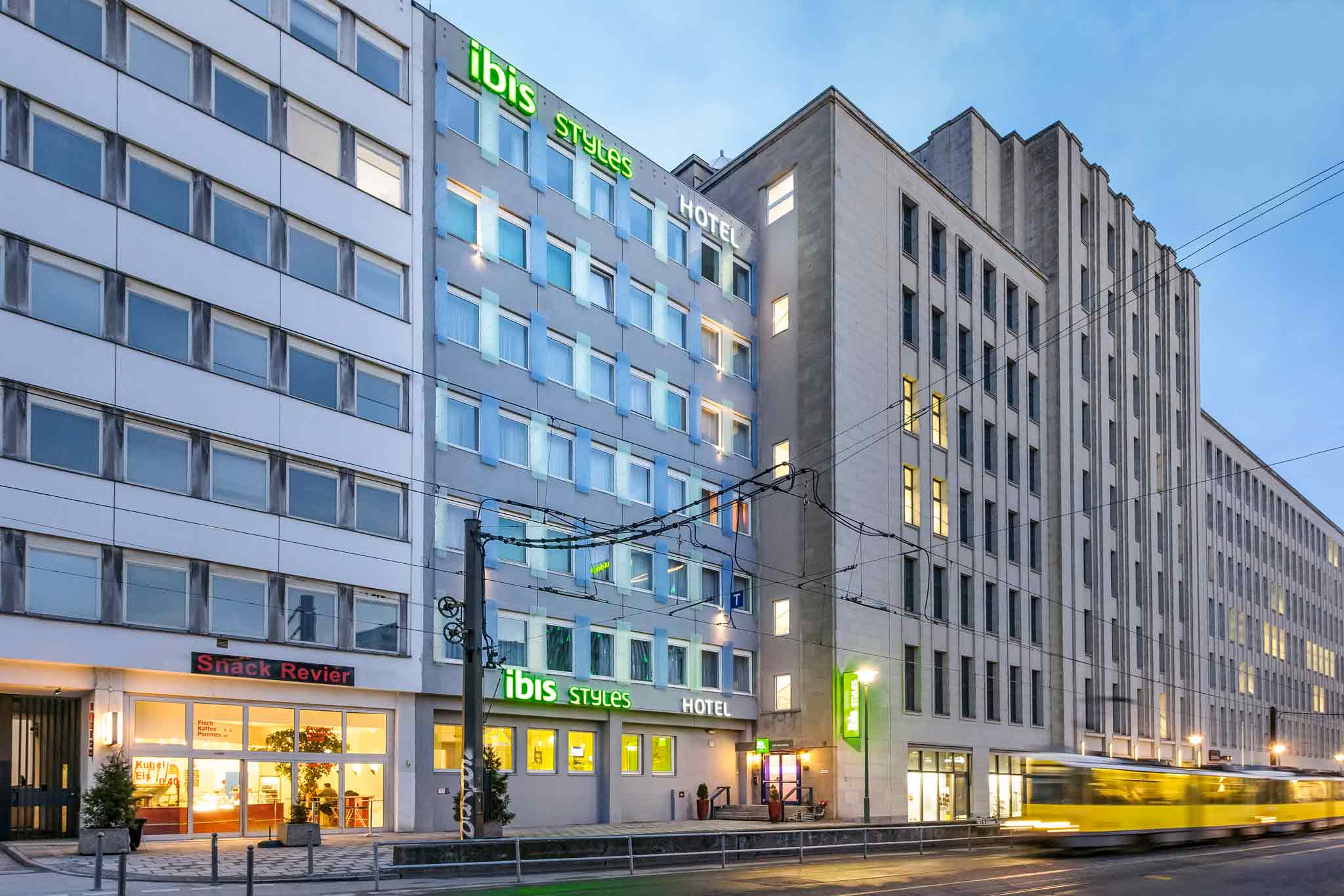 מלון IBIS STYLES BERLIN ALEXANDERPLATZ (EX.ALL SEASONS)