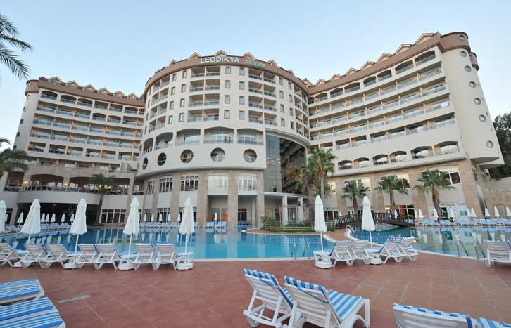 מלון Leodikya Resort