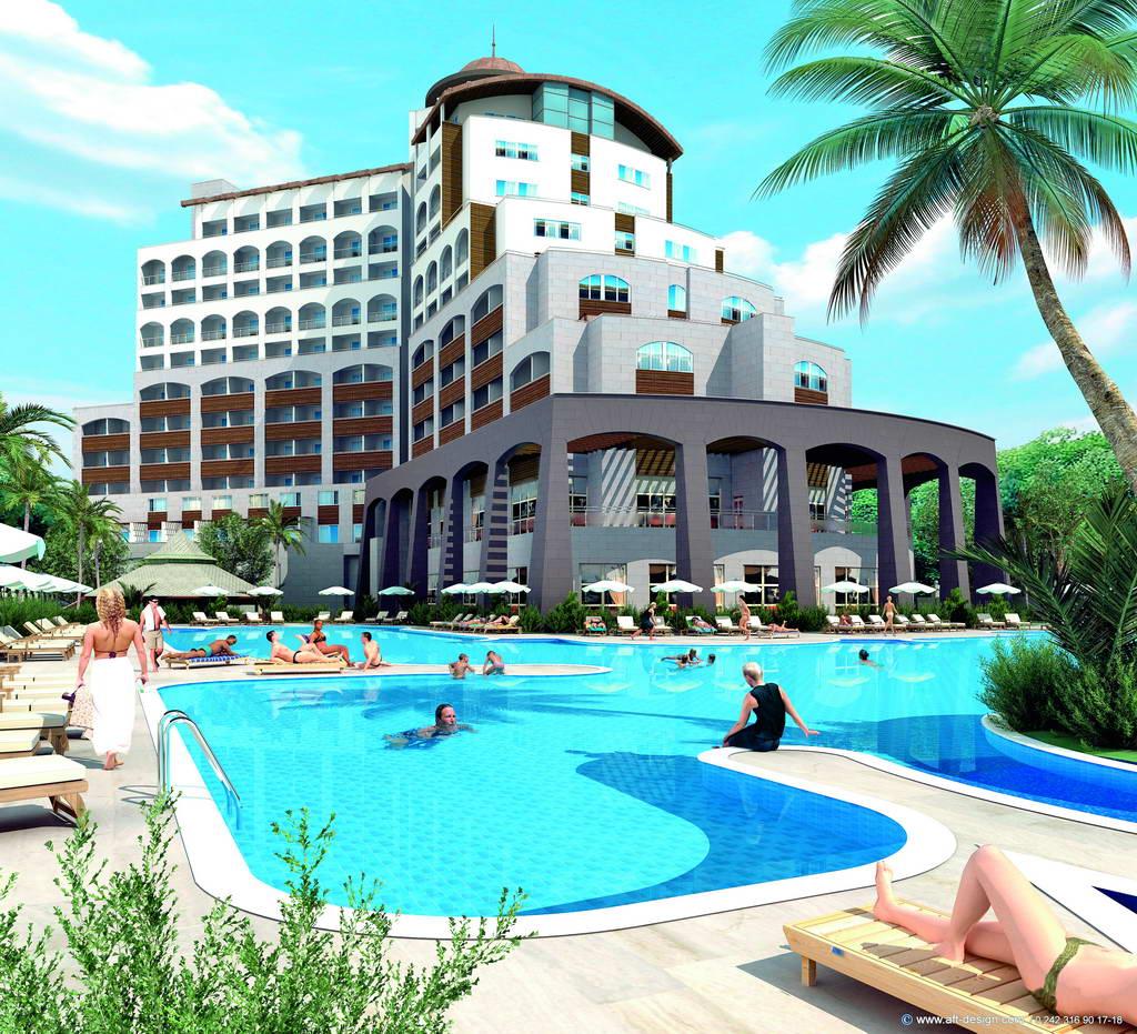 מלון Melas Lara Hotel