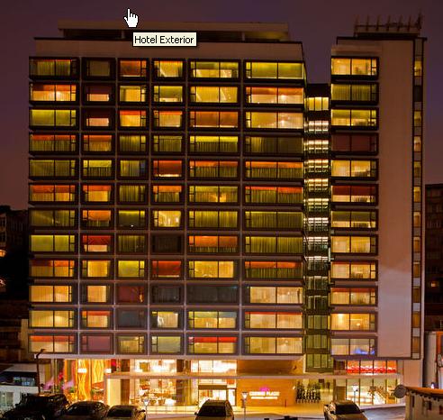 מלון Crown Plaza Harbiye