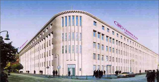 מלון Crowne Plaza Potsdamer Platz