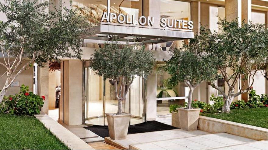 מלון Divani Apollon Suites